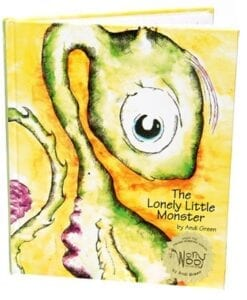 Lonely Little Monster Book