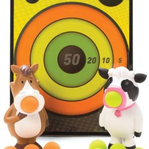 Squeeze Poppers & Sticky Target