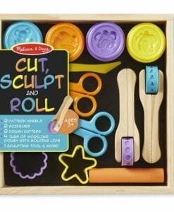 Cut, Sculpt & Roll Clay Play Set