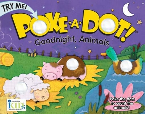 Poke-A-Dot! Goodnight, Animals
